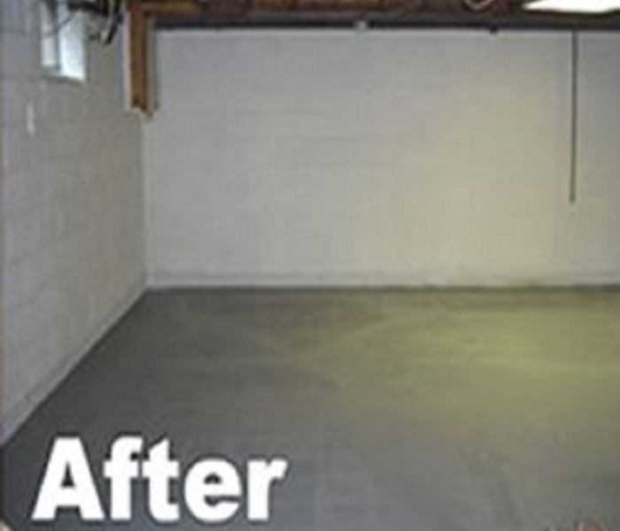 Flooded Basement After